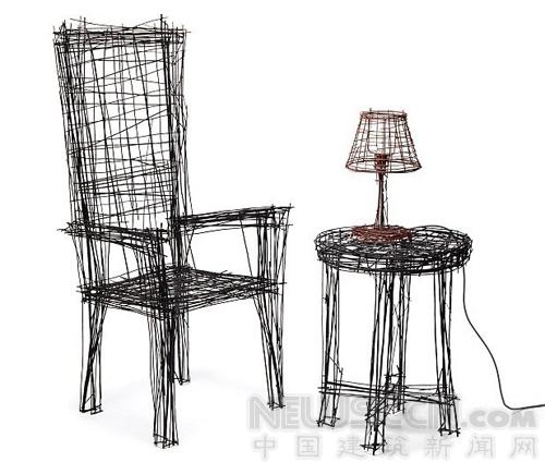 创意设计椅子草图